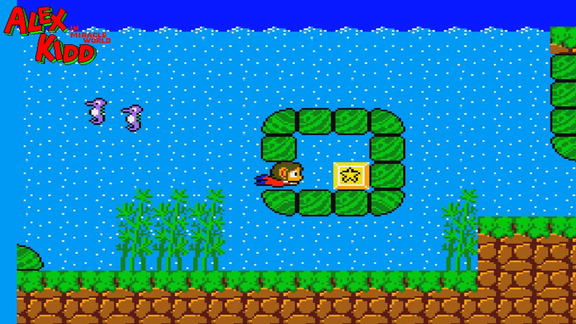 how to play alex kidd miracle world